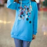 heavenly dress out hoodie
