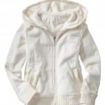 light on girls clothing of hoodies
