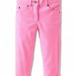 boys slim twill pants